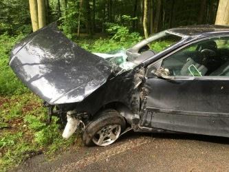 Verkehrsunfall Kreuzerbuch-Saeul