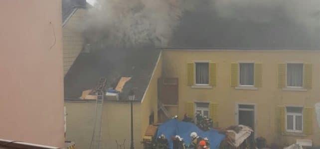 Brandeinsatz in Scheune