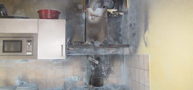 [B2] Entstehungsbrand in Küche