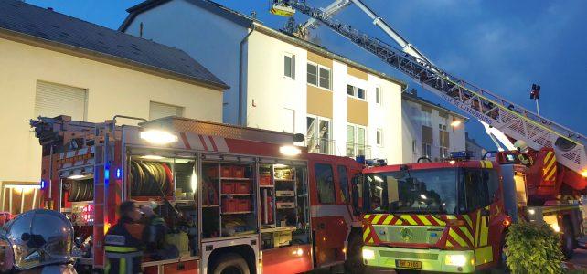 [B3] Brand in Einfamilienhaus
