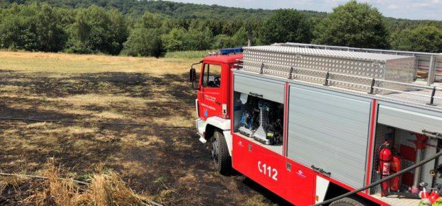 [B2] Brand einer landwirtschaftlichen Maschine